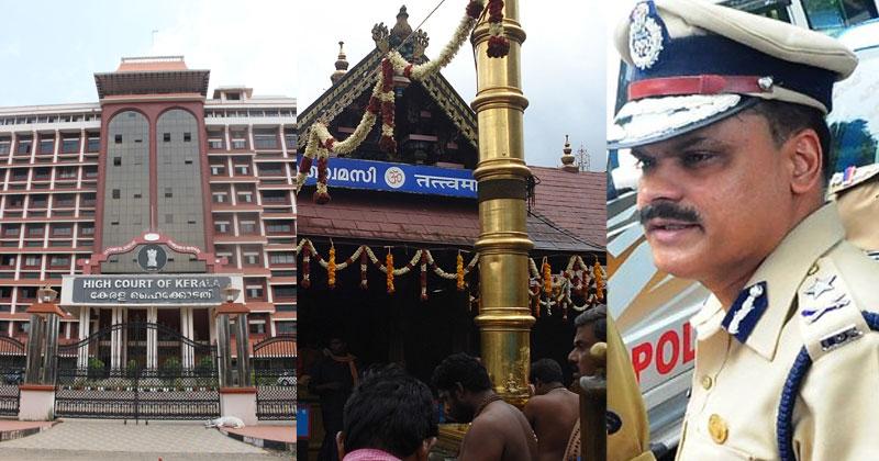 HC-Vijay Sakhare-Sabarimala