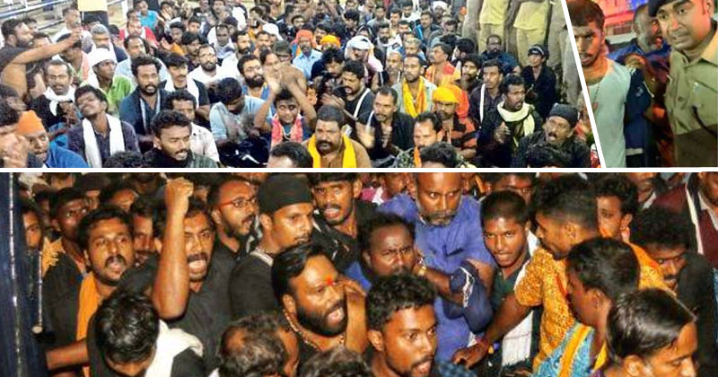 Sabarimala-68-protestors-arrested-remand