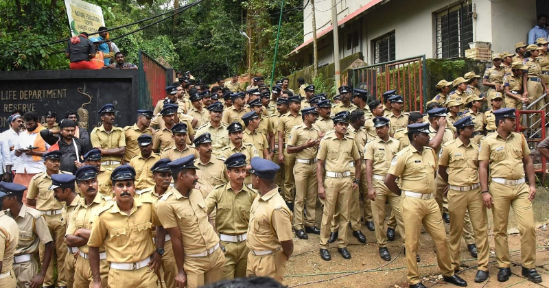 Sabarimala-Police