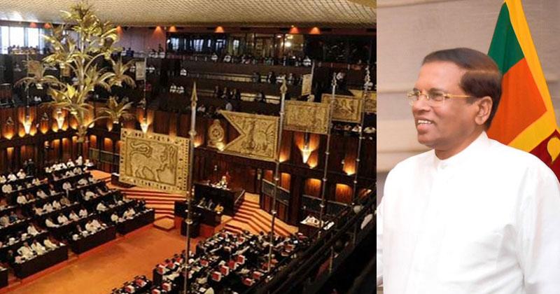 Sirisena-Srilanka-Parliament-SC
