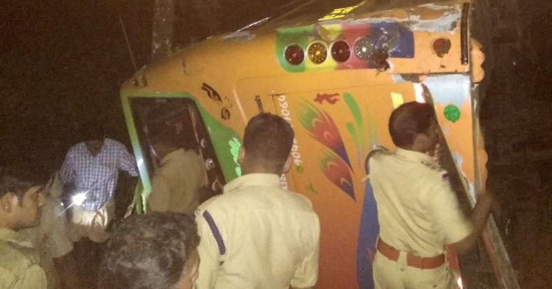 Munnar Bus Accident