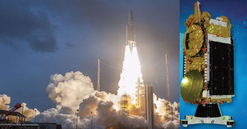 GSAT-11-launched