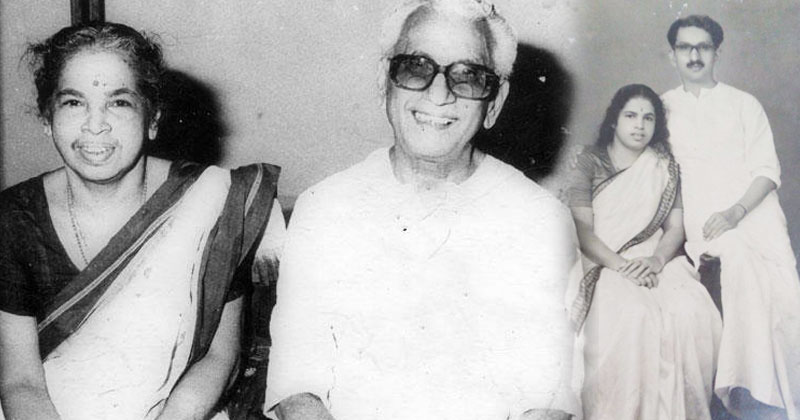 K.Karunakaran-Family