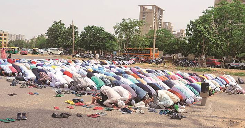 Noida-public-namaz-ban
