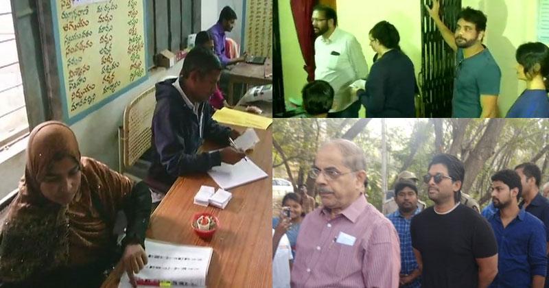 Voting-in-Telangana