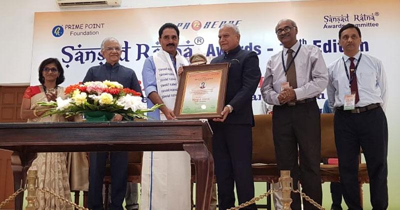 NK-Premachandran-SansadRetna Award