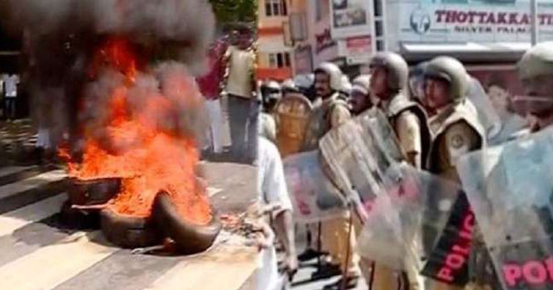 Palakkad-akramam-violence