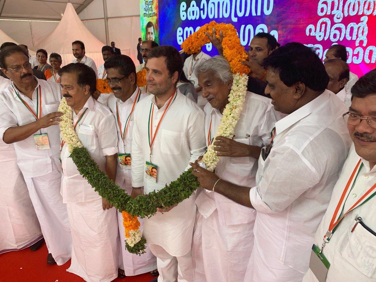 Rahul at Kochi