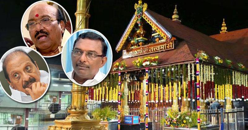 Sabarimala-BalakrishnaPillai-Vellappaly-Padmakumar