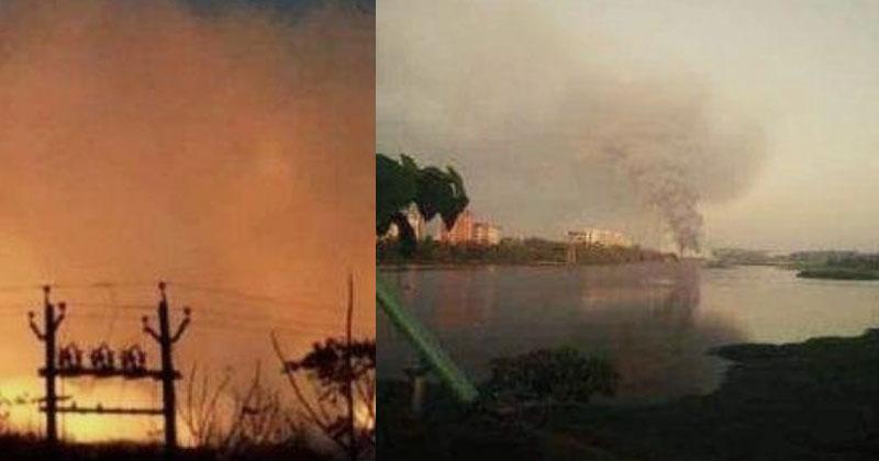 Brahmapuram WastePlant fire