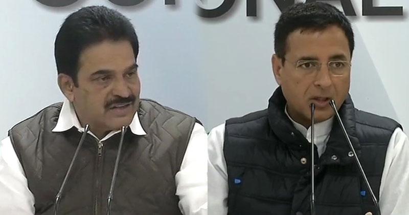KC Venugopal, Randeep Singh Surjewala