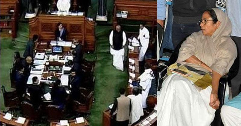 Parliament-Mamtha-Issue