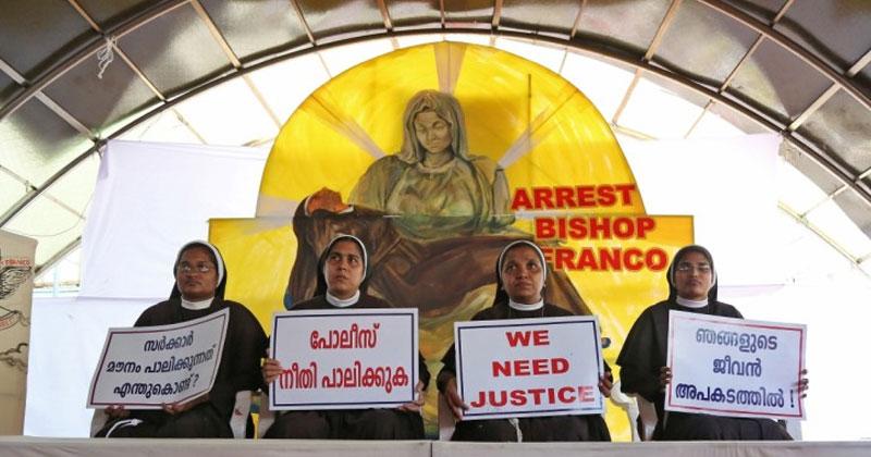 Nuns Protest