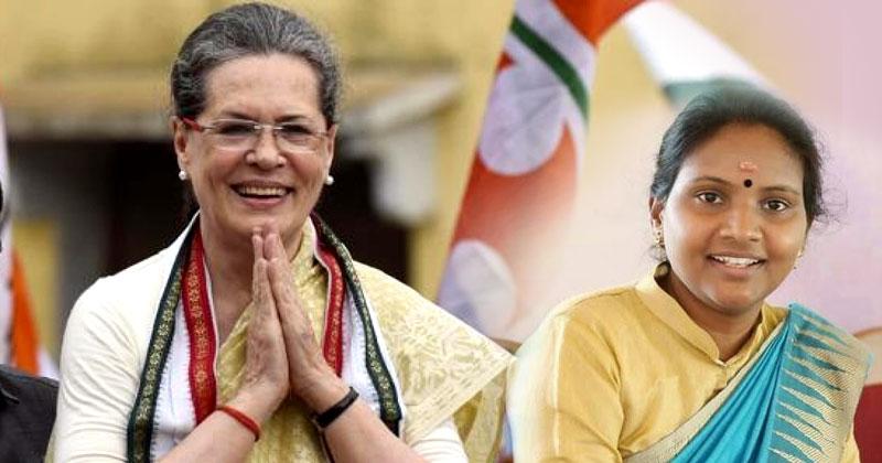 Sonia Gandhi Remya Haridas