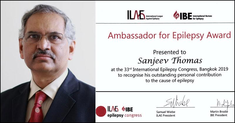 Ambassador of Epilepsy Award