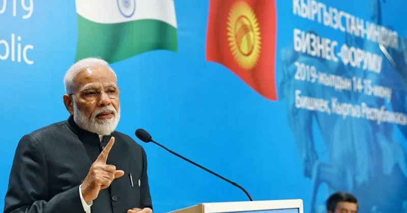 Modi at Shanghai Cooperation Organisation (SCO) Summit