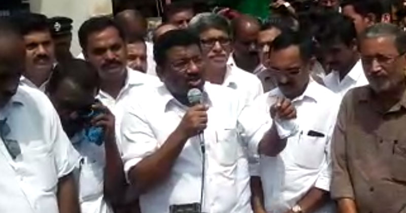 Satheesan-Pacheni-Anthoor-UDF-March