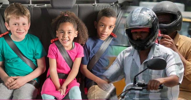 helmet-seat-belt